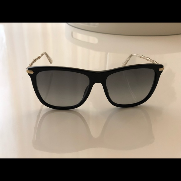 c9ad8b07ad Gucci Accessories - Gucci sunglasses women s black with gold frames